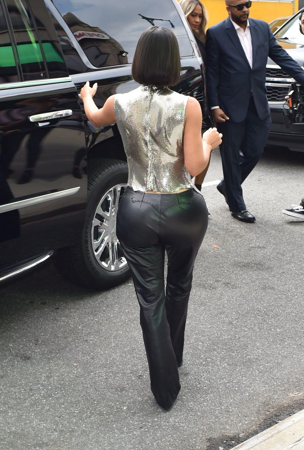 Uncategorized 2019 : Kim Kardashian arrives at a fashion show in New York during New York Fashion Week 2019-26