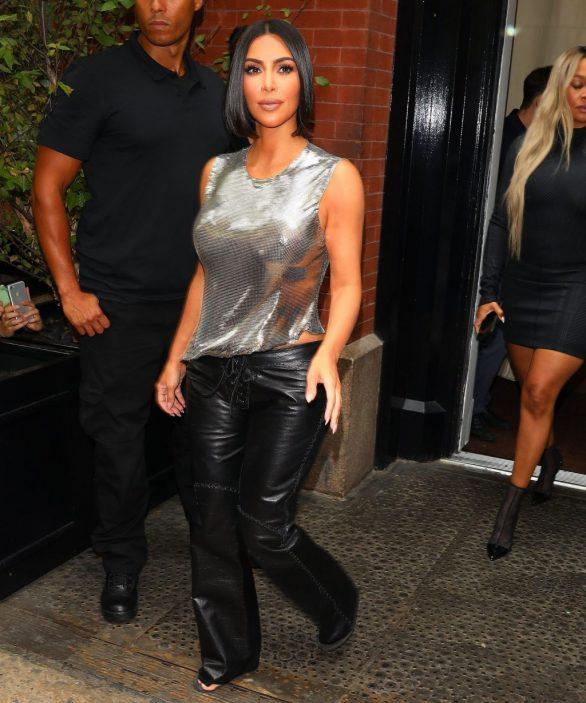 Uncategorized 2019 : Kim Kardashian arrives at a fashion show in New York during New York Fashion Week 2019-32