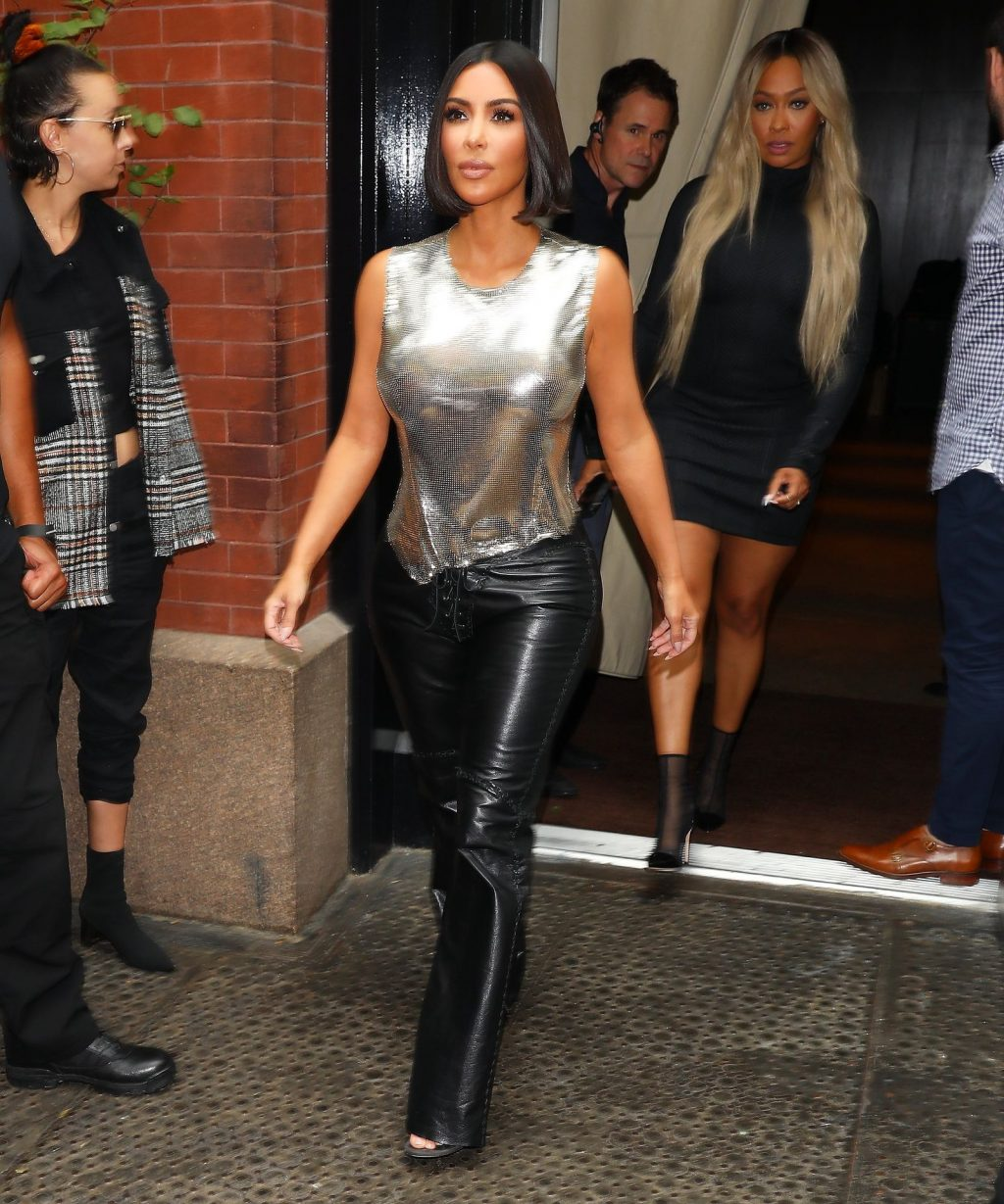 Uncategorized 2019 : Kim Kardashian arrives at a fashion show in New York during New York Fashion Week 2019-49