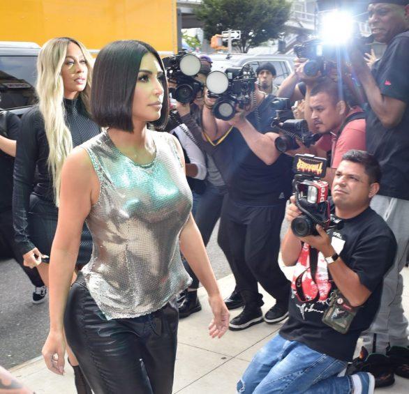 Uncategorized 2019 : Kim Kardashian arrives at a fashion show in New York during New York Fashion Week 2019-58