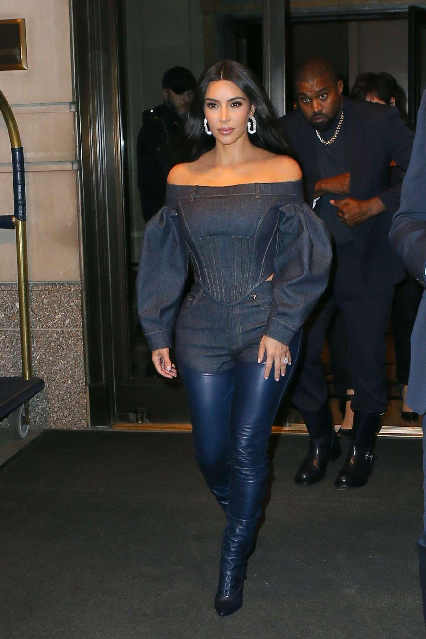 Kim Kardashian - Arrives at the 2019 WSJ Innovators in NYC