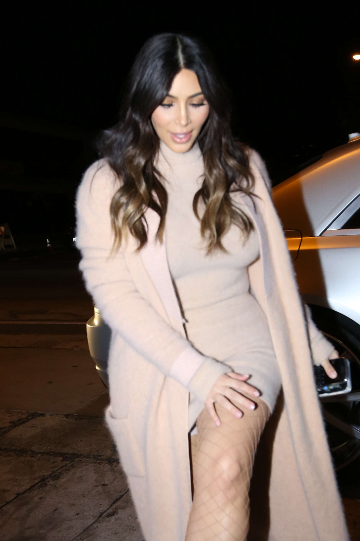 Kim Kardashian – Arriving at Craigs Restaurant in West Hollywood