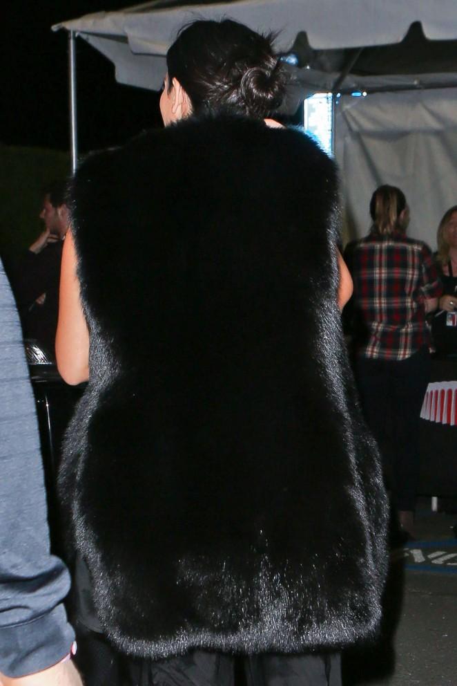 Kim Kardashian – Arriving at the Sam Smith Concert -14