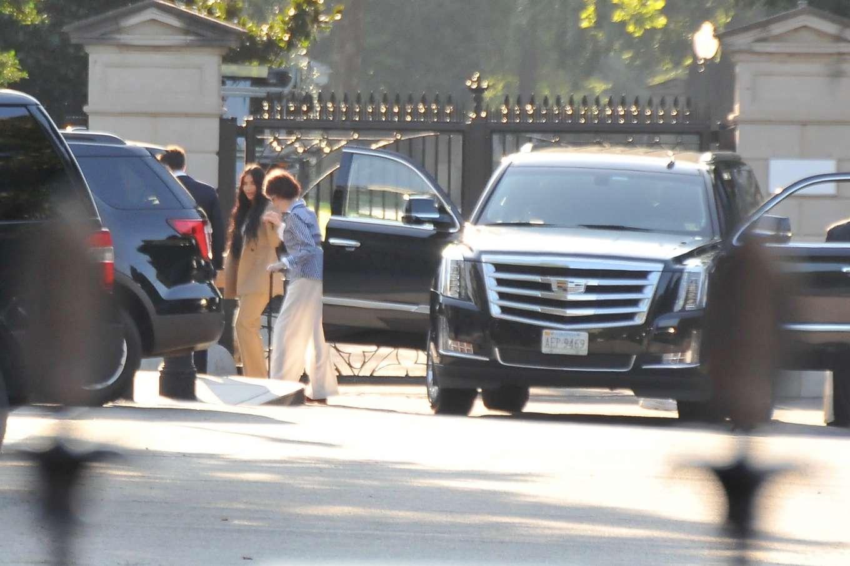 Kim Kardashian 2019 : Kim Kardashian – Arriving at the White House-03