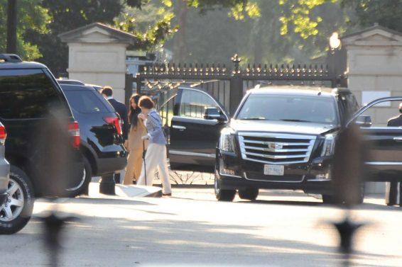 Kim Kardashian 2019 : Kim Kardashian – Arriving at the White House-04