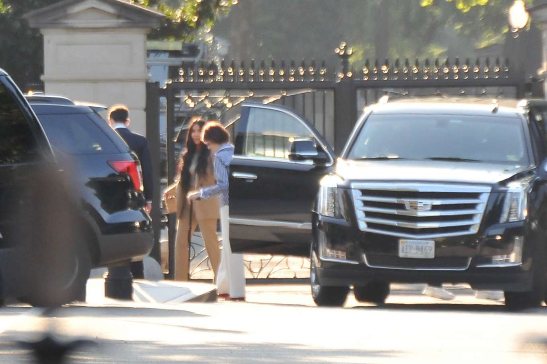 Kim Kardashian 2019 : Kim Kardashian – Arriving at the White House-06