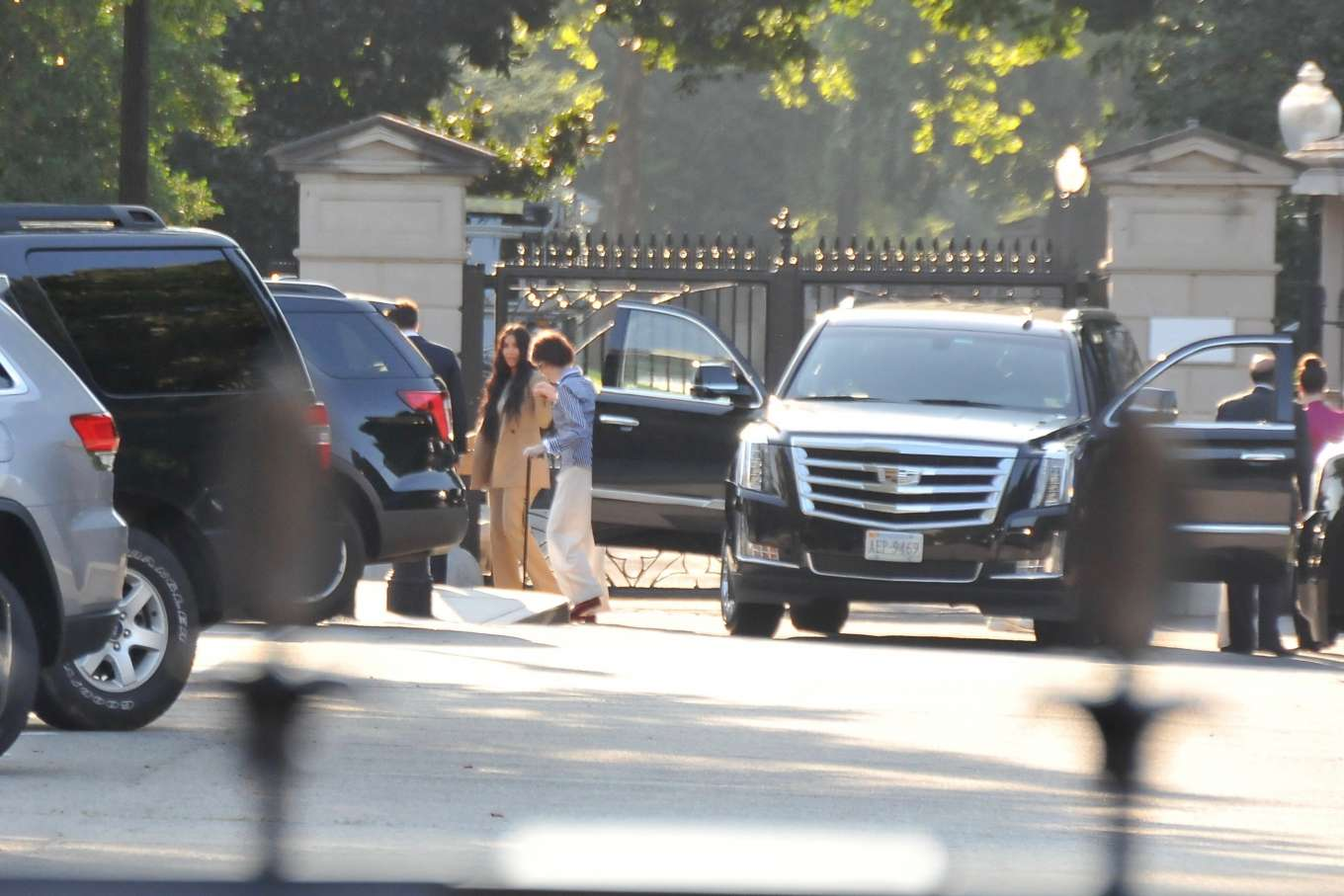 Kim Kardashian 2019 : Kim Kardashian – Arriving at the White House-08