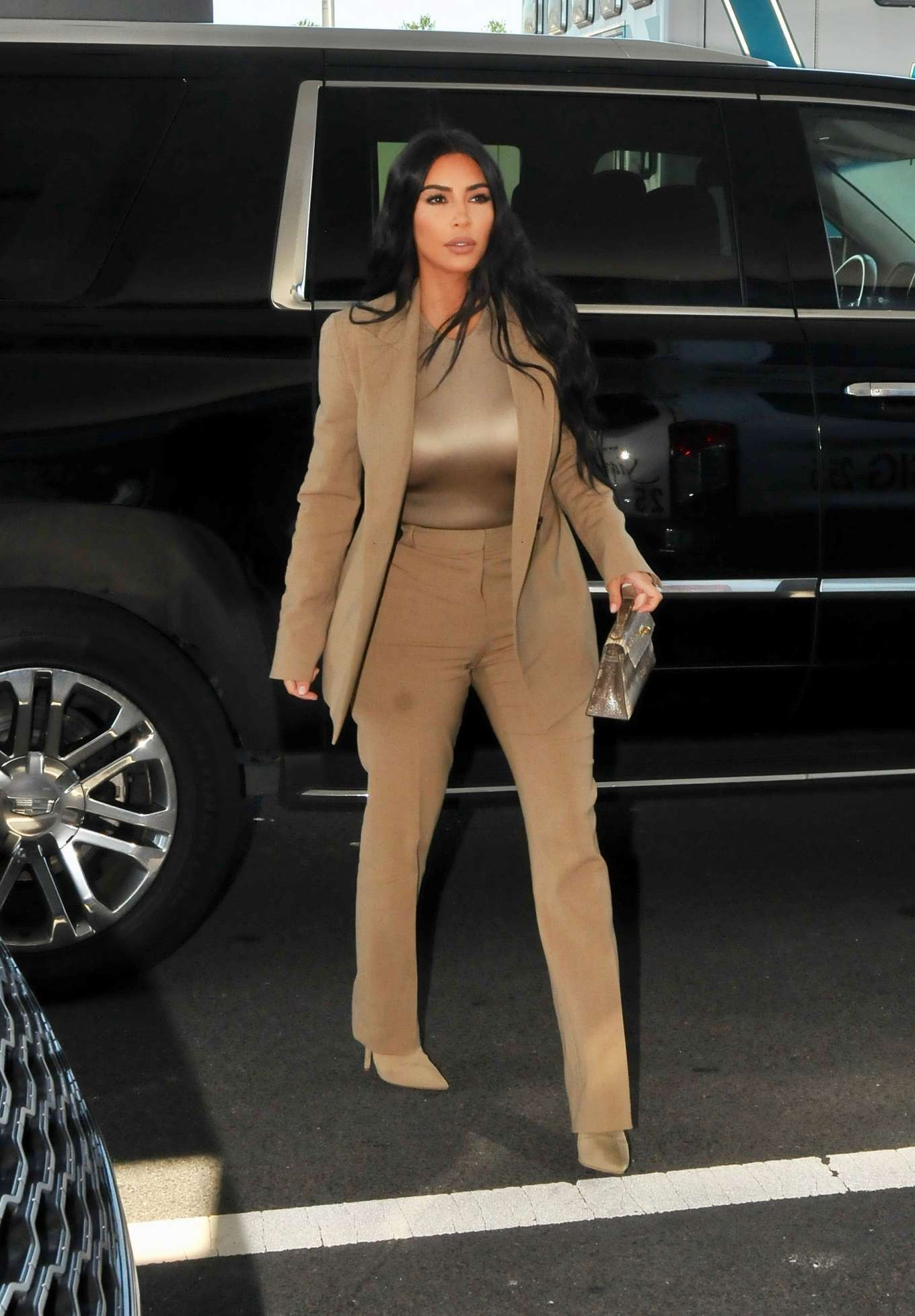 Kim Kardashian 2019 : Kim Kardashian – Arriving at the White House-09