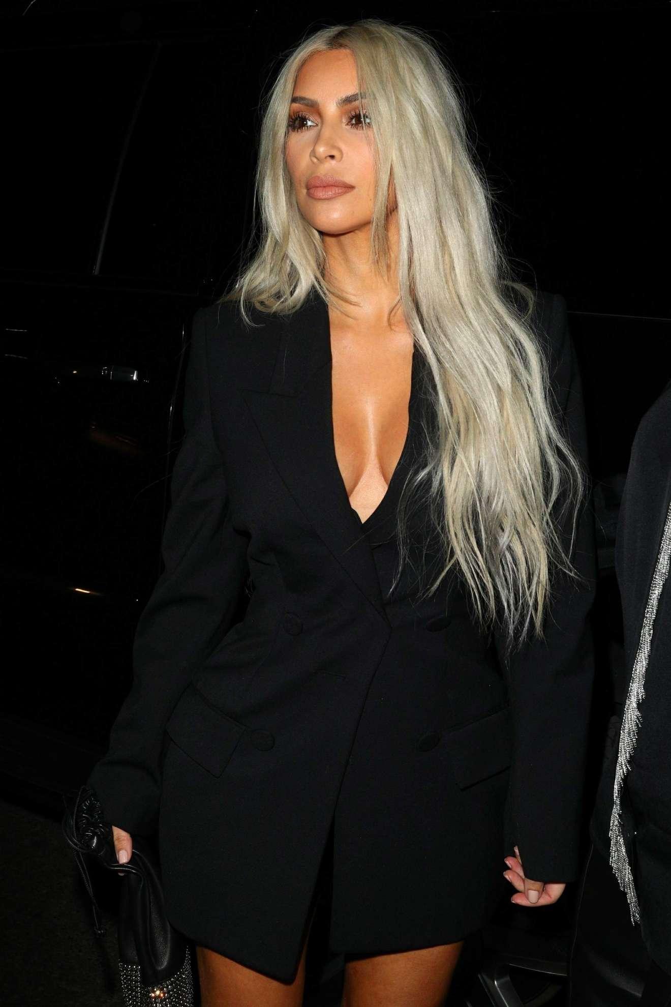 Kim Kardashian New York Fashion Week September Alexander Wang