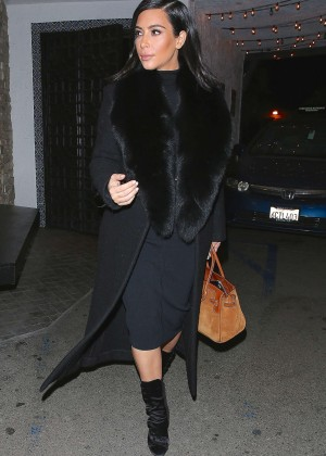 Kim Kardashian at Casa Vega Restaurant in Sherman Oaks