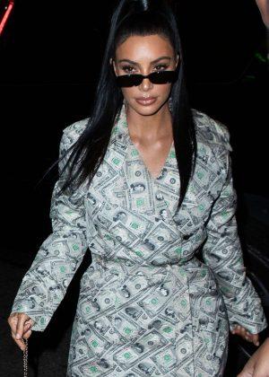 Kim Kardashian at Delilah in West Hollywood
