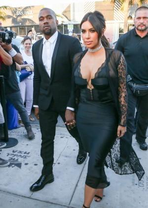 Kim Kardashian at Isabela Rangel and David Grutman's Wedding in Miami
