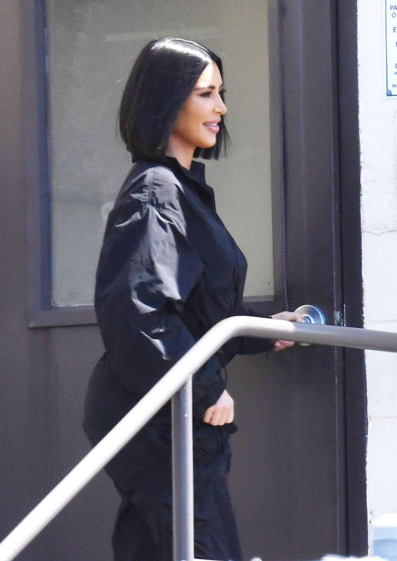 Kim Kardashian At San Quentin State Prison Gotceleb
