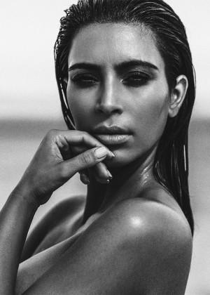 Kim Kardashian: C Magazine 2015 -02
