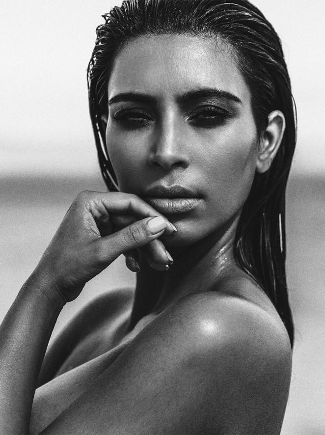 Kim Kardashian 2015 : Kim Kardashian: C Magazine 2015 -02