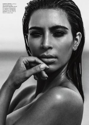 Kim Kardashian: C Magazine 2015 -03