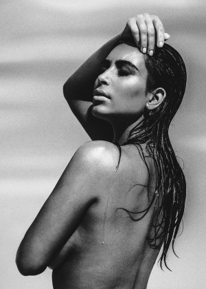 Kim Kardashian: C Magazine 2015 -05