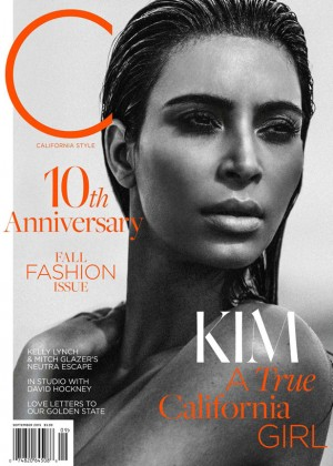 Kim Kardashian - C Magazine (September 2015)