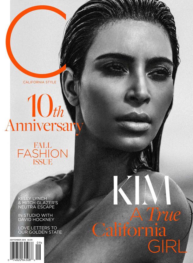 Kim Kardashian 2015 : Kim Kardashian: C Magazine 2015 -06