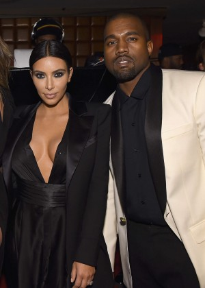 Kim Kardashian - Celebrating John Legend's Birthday in New York City