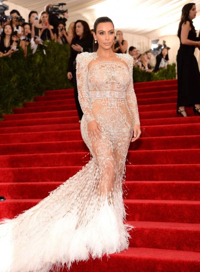 Kim Kardashian - 2015 Costume Institute Gala in NYC