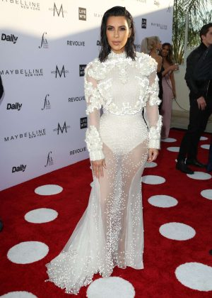Kim Kardashian - Daily Front Row's 3rd Annual Fashion LA Awards in West Hollywood