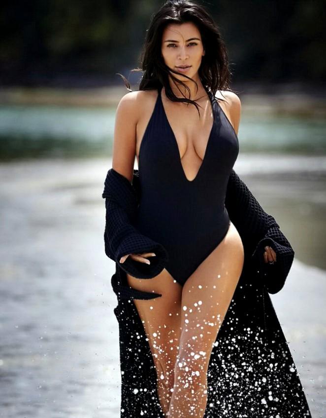 Kim Kardashian - Editorialist Magazine (Spring 2016)