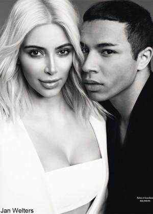 Kim Kardashian - ELLE France (March 2015)