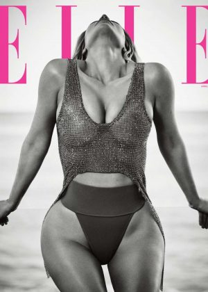 Kim Kardashian - Elle Magazine (April 2018)