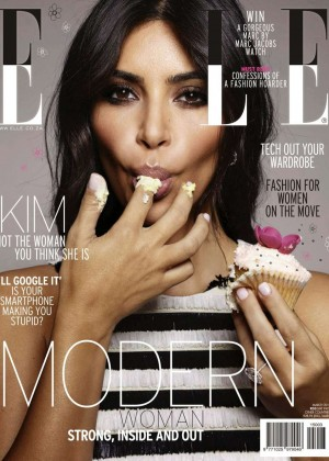 Kim Kardashian - Elle South Africa Magazine (March 2015)