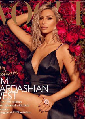 Kim Kardashian for Vogue India (March 2018)
