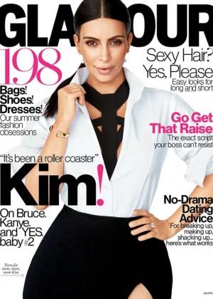 Kim Kardashian - Glamour Magazine (July 2015)