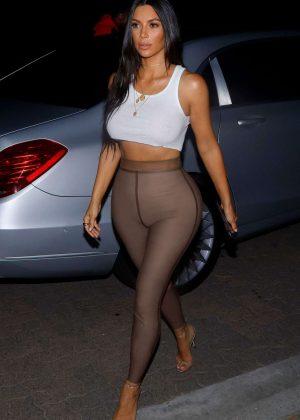 Kim Kardashian - Going out for movies in Sherman Oaks