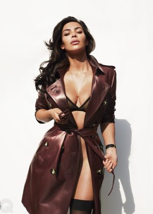 Kim Kardashian - GQ Magazine (July 2016)