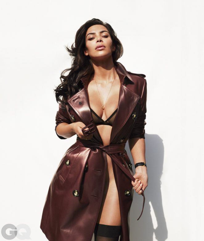 Kim Kardashian – GQ Magazine (July 2016)