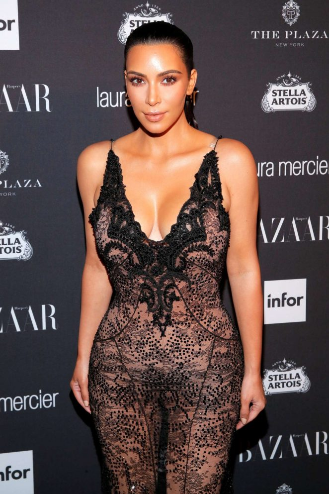 Kim Kardashian - Harpers Bazaar Icons Party 2016 in NYC