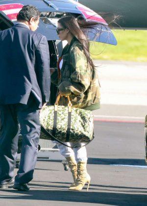 Kim Kardashian heads out to Costa Rica