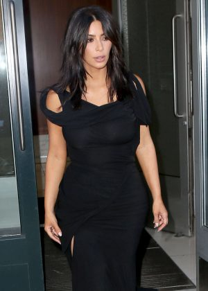 Kim Kardashian Heads to the Webby Awards in NY