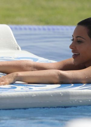 Kim Kardashian: In a Bikini on beach in Mexico-05