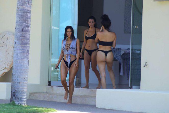 Kim Kardashian in Bikini 2017 -11