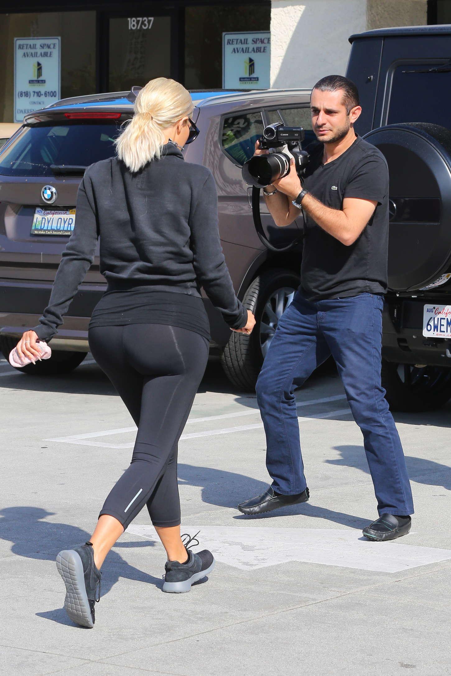Kim Kardashian Butt Size