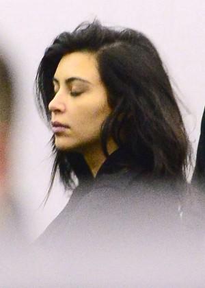 Kim Kardashian - JFK Airport in NYC