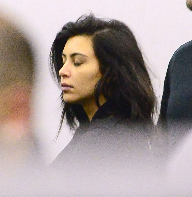 Kim Kardashian - JFK Airport in NYC