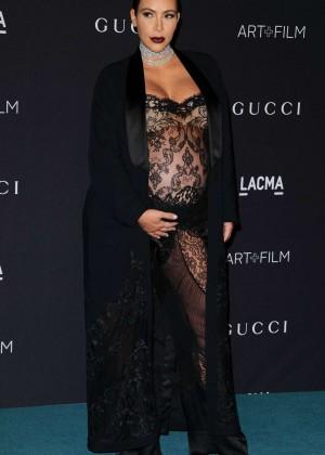 Kim Kardashian: LACMA 2015 Art Film Gala -01