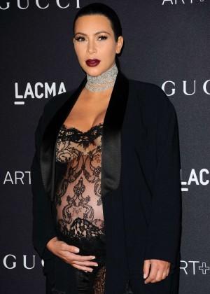 Kim Kardashian: LACMA 2015 Art Film Gala -05