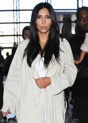 Kim Kardashian - LAX Airport in LA