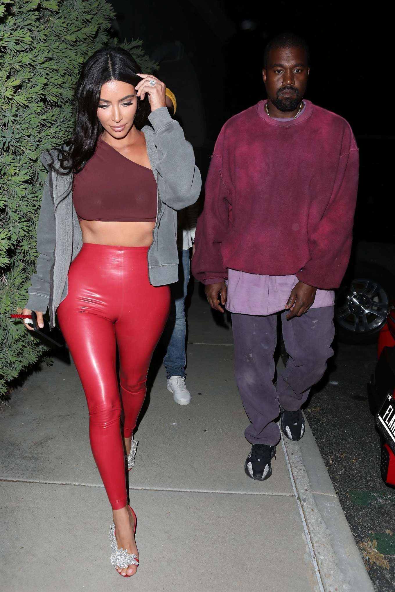 Kim Kardashian 2019 : Kim Kardashian: Leave Travis Scotts Birthday party -14
