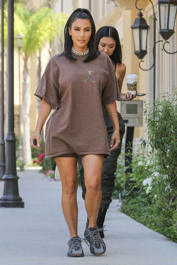 Kim Kardashian: Leaves a meeting in Calabasas-02