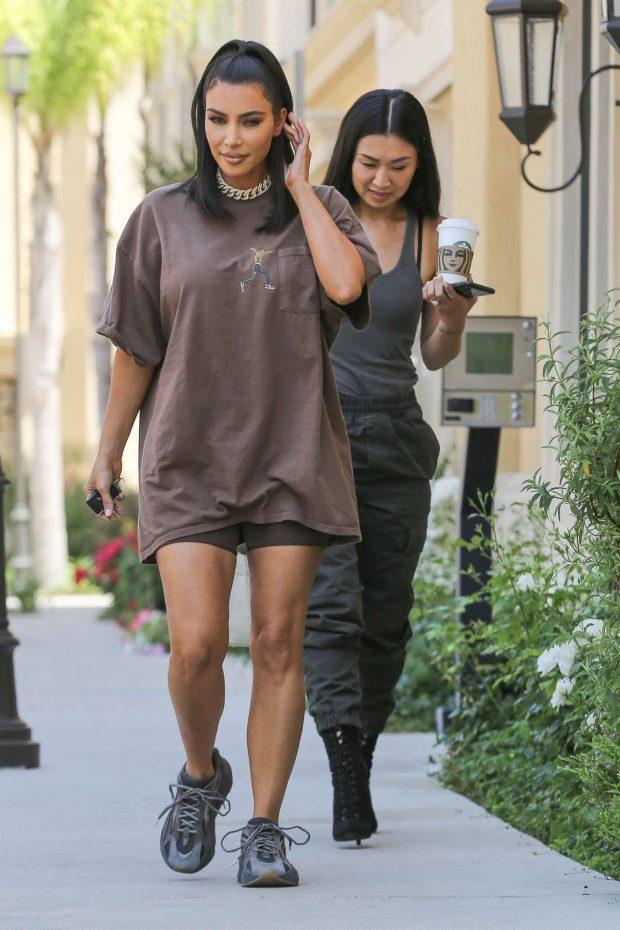 Kim Kardashian: Leaves a meeting in Calabasas-05