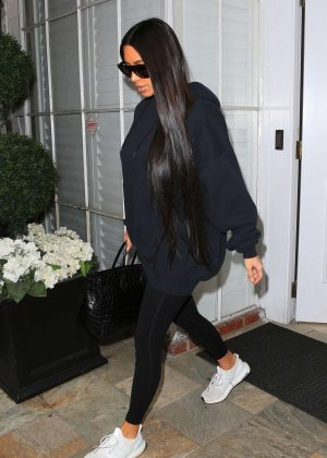 Kim Kardashian - Leaves Epione in Beverly Hills